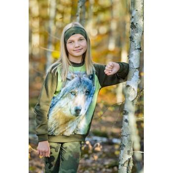 Bluza z wilkiem dla dzieci