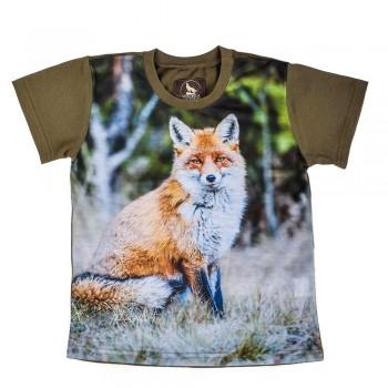 T-shirt z lisem dla dzieci