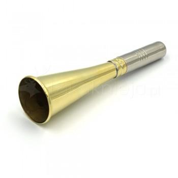 Sygnałówka Prosta Złota 12cm